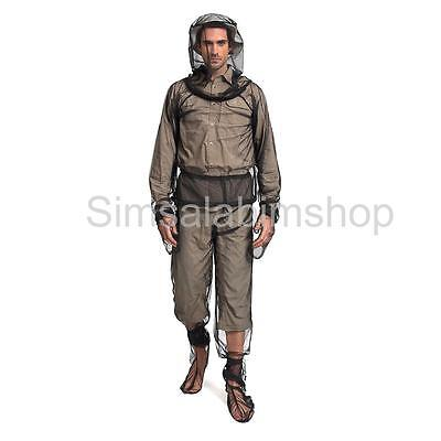 Outdoor Camping Fishing Mosquito Insect Mesh Protector Jacket Trousers Set L
