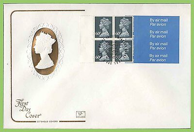 G.B. 1993 £2.40 4 x 60p booklet pane Cotswold First Day Cover, Windsor