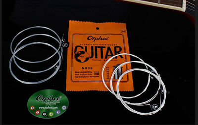 HIGH QUALITY Orphee NX35 CLASSICAL NYLON GUITAR STRINGS 028-045 NEW