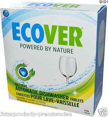 New Ecover Nautral Automatic Dishwasher Tablets Citrus Scent Natural Daily Clean