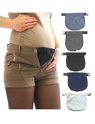 Pants extension Skirt Belly Waistband rubber Band button Maternity