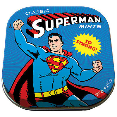 Mints Peppermints SUPERMAN-IS MINT Peppermint Classic Superman Mint
