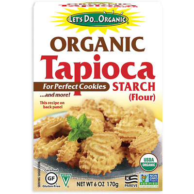 New Edward & Sons Let's Do Organic Tapioca Starch Gluten Free Daily Health Food