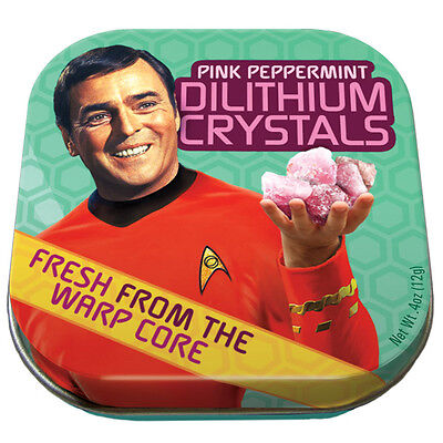 Mints Peppermints Dilithium Crystals Pink Peppermint Mint Classic STAR TREK Mint