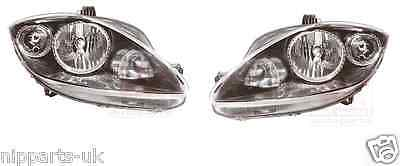 Seat Leon 2009-2012 Headlight Headlamp 1 X Pair Right And Left O/s N/s Set New