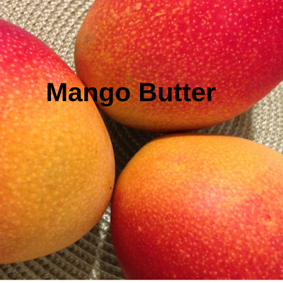 Mango Butter 100% Pure Natural Moisturiser Soap Making | Body Care Base FREE P&P