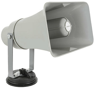 Av4all Vehicle Megaphone With USB/SD Player and Looper - 952.006UK