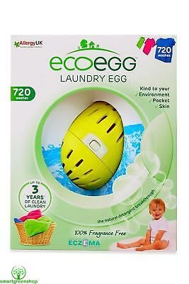 ecoegg Laundry Egg 720 Washes Fragrance Free Eco-friendly and Hypoallergenic