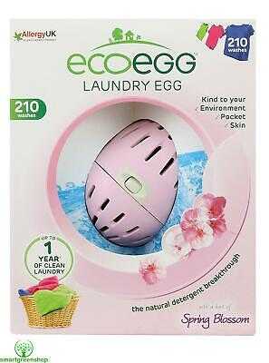 ecoegg Laundry Egg 210 Washes Spring Blossom Eco-friendly and Hypoallergenic