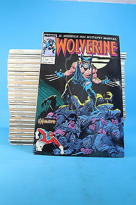 [Jq-02] Wolverine - Completa 1/241 - Ed.play Press/marvel- Ottimo/edicola