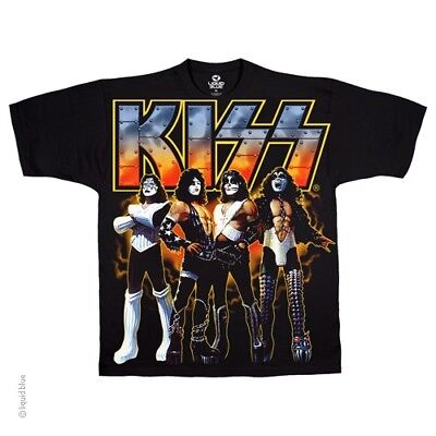 New KISS Love Gun T Shirt
