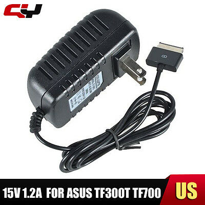 15V 1.2A Power Charger AC Adapter for ASUS Transformer Pad TF300T TF700 New US