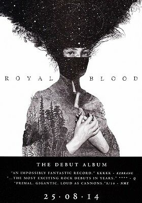 ROYAL BLOOD The Debut Album PHOTO Print POSTER Band Foo Fighters Mike Kerr 001