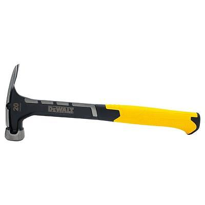 Dewalt Rip Claw Hammer Head Hand Tool Hardware Side Nail Puller Light Weight New