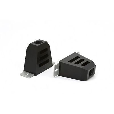 Daystar KU09016BK Wide Slotted Bump Stop with Mounting Plate