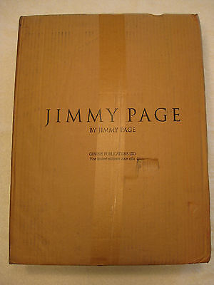 JIMMY PAGE BY JIMMY PAGE Genesis Publications DELUXE Edn. (208/350) Led Zeppelin