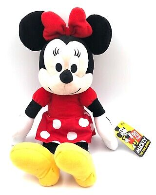 """New! Disney's  Minnie Mouse 14 """" Plush Doll - Stuffed Toy Authentic Licensed"""