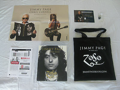 JIMMY PAGE Ticket/Book/Tote Bag EXCLUSIVELY at Ace Hotel 11/12/14 Led Zeppelin