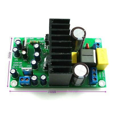 250W IRS2092S L15DSMD Class D Mono Digital Amplifier Finished Board