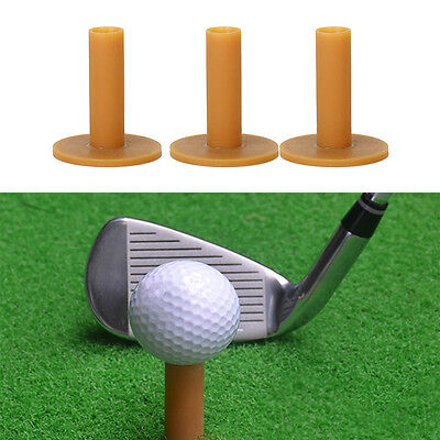 3X Golf Golftee Gummi Tees Rubber Tees Rubbertees 80/70/60mm Abschlagmatte Set