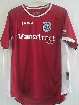 Cardiff City 2008-2009 Away Football Shirt Size Medium /40664