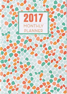"2017-Monthly-Planner- Desk Calendar-Appointment Book 7"" X 9 1/2"""