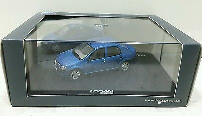 Free Shipping!!! Eligor 1:43 Renault Dacia Logan Model Car - Blue