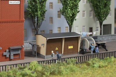 Auhagen 13338 Transformer station with accessories in TT NEW PRODUCT