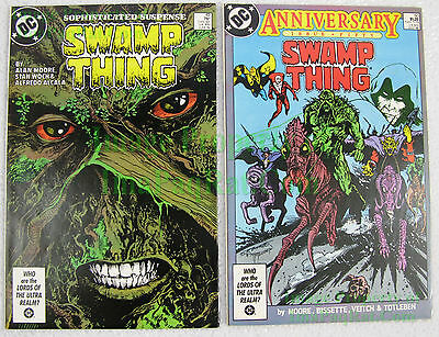 Swamp Thing #49 & #50 Cameo & 1st Appear Justice League Dark Issues Movie Coming