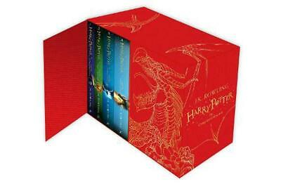 Harry Potter Hardback Boxed Set: The Complete Collection by J.K. Rowling Hardcov