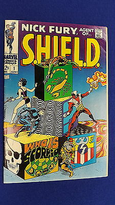 Nick Fury Agent Of Shield #1 (1968) ~Fn+/vf Sharp Copy - Steranko Classic