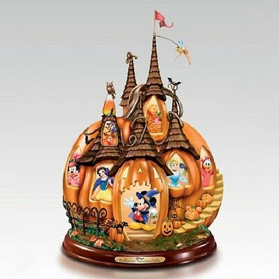Enchanted Pumpkin Castle - Disney Figurine Bradford Exchange