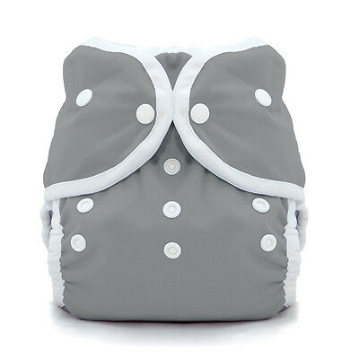 Thirsties Duo Wrap Snap Cloth Diaper Cover in FIN