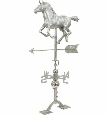 Horse Weather Vane, Stainless Steel