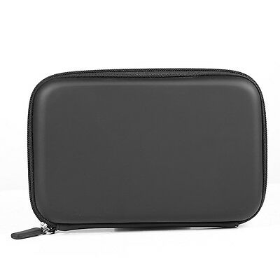 "Hard Shell Carry Case Cover Bag Pouch For 7"" TomTcom Garmin In Car GPS Sat Nav"