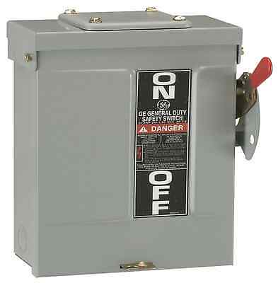 60-Amp 240-Volt Electrical Disconnect Outdoor Safety Switch Fusible General-Duty