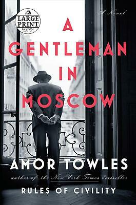 A Gentleman in Moscow by Amor Towles (English) Paperback Book Free Shipping!