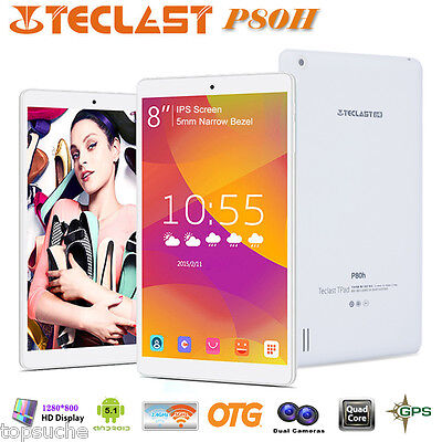 """8"""" Pollici Teclast P80H PC Tablet Android 5.1 Quad Core HDMI USB WIFI GPS OTG"""