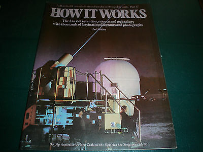 Vintage How It Works Magazine 2Nd Edition #47 Marshall Cavendish Technology