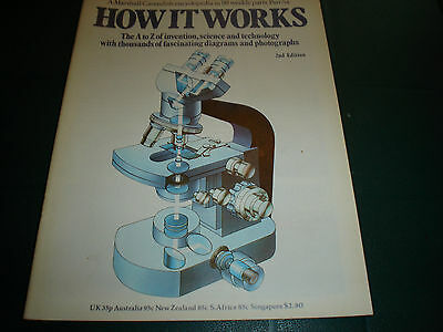Vintage How It Works Magazine 2Nd Edition #54 Marshall Cavendish Technology