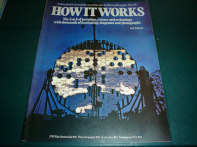 Vintage How It Works Magazine 2Nd Edition #70 Marshall Cavendish Technology
