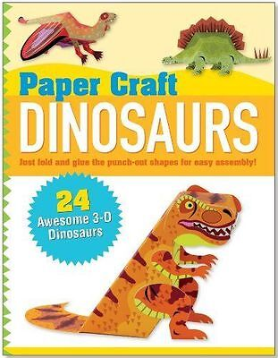 Paper Craft Dinosaurs (Papertoy Models, Origami)