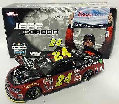 Jeff Gordon #24 AARP Daytona Pole 2015 1/24 Scale NASCAR Diecast