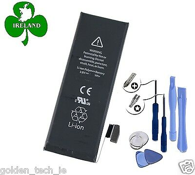 FOR APPLE iPHONE 5S NEW INTERNAL BATTERY REPLACEMENT WITH TOOLS