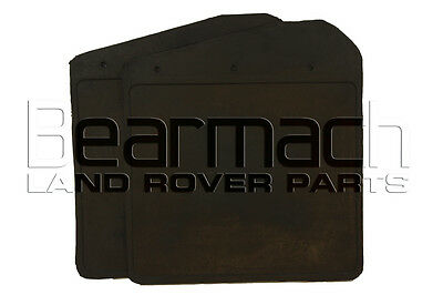 Land Rover Defender 90, Mudflap Set, FRONT, THICK RUBBER Bearmach Brand, RTC4685