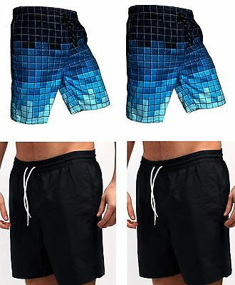 New Men`s Boys Swimming Shorts Beach Summer Lightwieght Swimwear Shorts Trunk