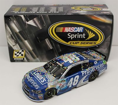 Jimmie Johnson #48 Lowe's Pro Services Dover Win 2015 1/24 Scale NASCAR Diecast