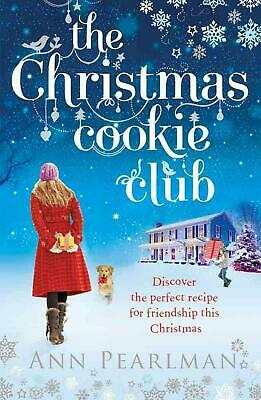 Christmas Cookie Club by Ann Pearlman Paperback Book Free Shipping!