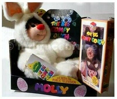 Big Comfy Couch Molly Doll in Bunny Costume NEW +VIDEO