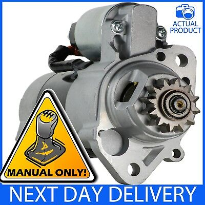 FITS NISSAN X-TRAIL T30 2.2 DCi 2001-07 inc 4x4 DIESEL MANUAL NEW STARTER MOTOR